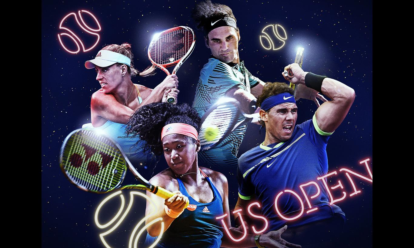 全米オープンテニス 晩夏のニューヨークで繰り広げられる激戦を独占生中継!