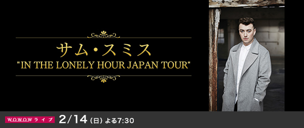 �T���E�X�~�X �gIN THE LONELY HOUR JAPAN TOUR�h