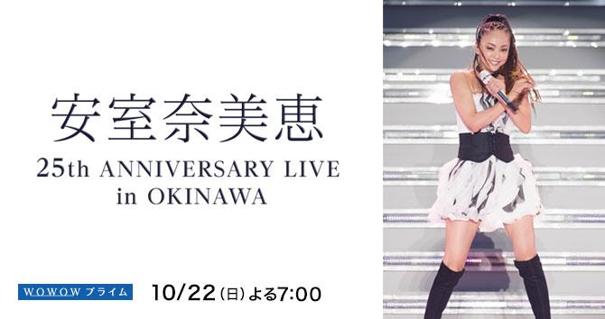 安室奈美恵 25th ANNIVERSARY LIVE in OKINAWA