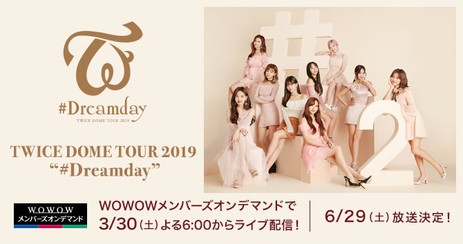 "TWICE DOME TOUR 2019 ""#Dreamday"""