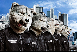 "5カ月連続!MAN WITH A MISSION×WOWOW ""WOWGOW 10TH MISSION"""