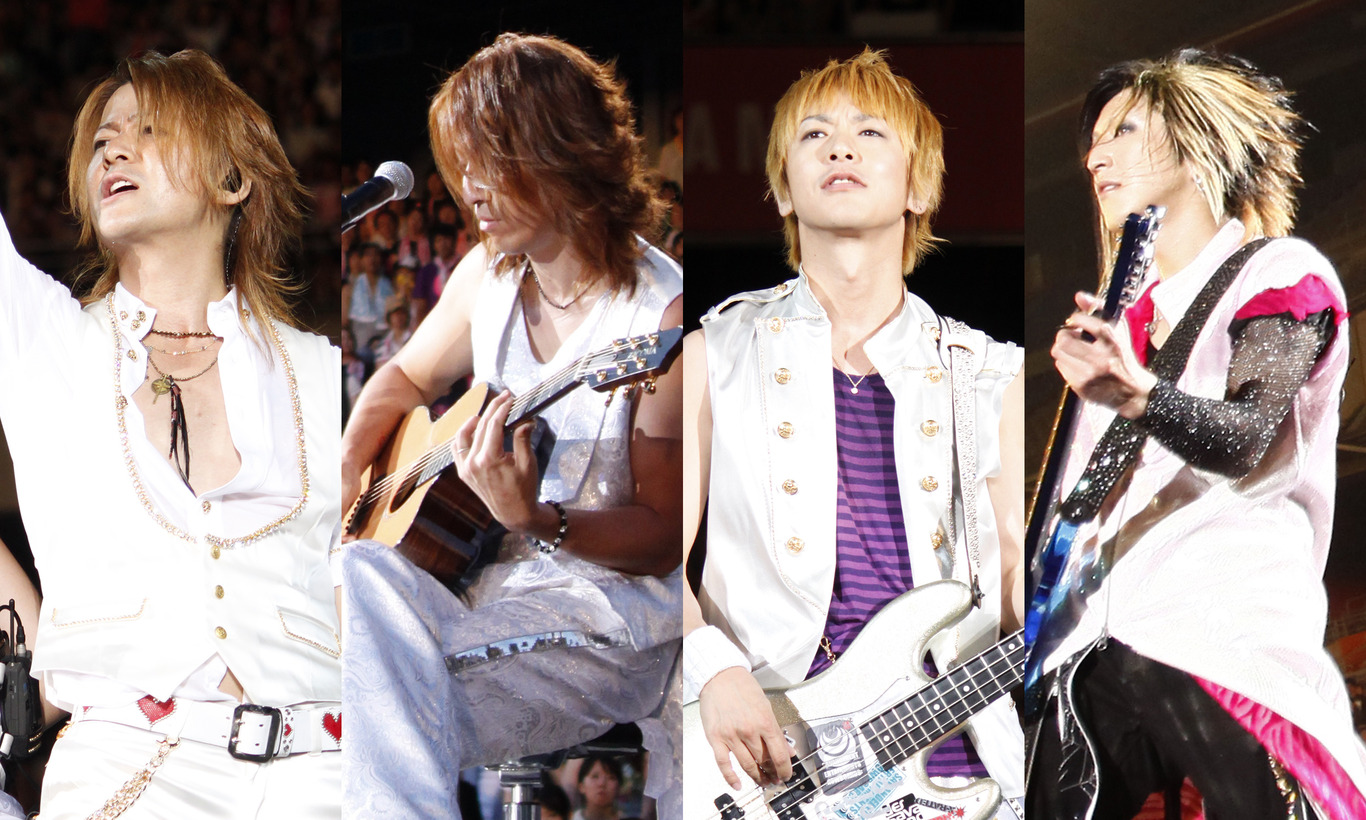 GLAY 15th Anniversary Special Live 2009  THE GREAT VACATION in NISSAN STADIUM