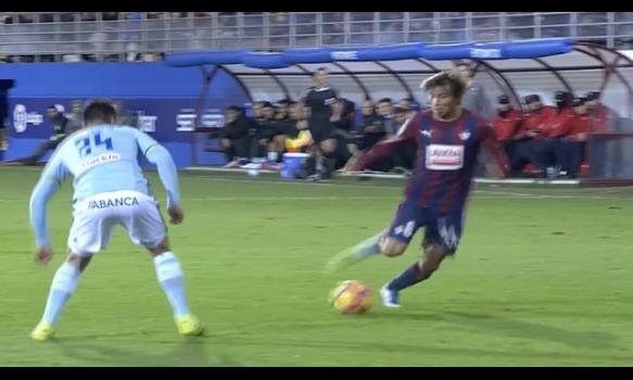 スペインサッカー リーガ・エスパニョーラ 16-17シーズン 第12節 スーパープレイ動画