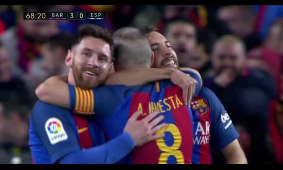 スペインサッカー リーガ・エスパニョーラ 16-17シーズン 第16節 スーパープレイ動画