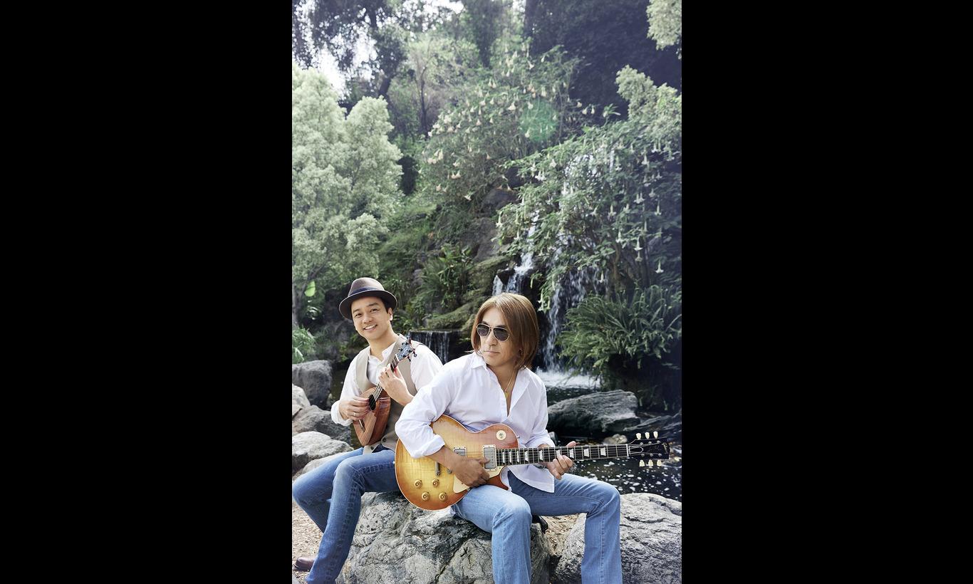 Tak Matsumoto & Daniel Ho 「Electric Island, Acoustic Sea」特集