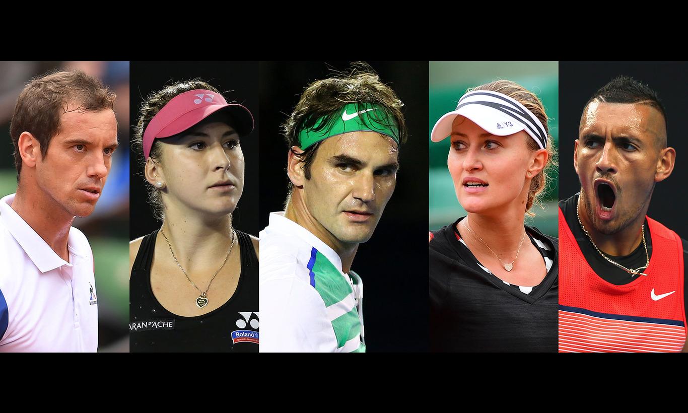 男女テニス国別対抗戦 ホップマンカップ 2017