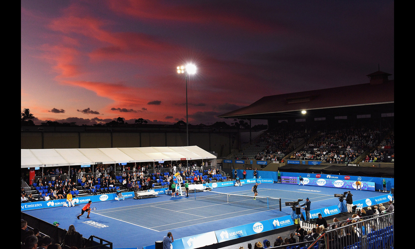 男子テニス団体戦 ワールドテニスチャレンジ 2017