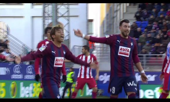 スペインサッカー リーガ・エスパニョーラ 16-17シーズン 第17節 スーパープレイ動画