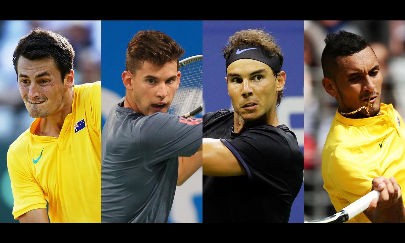 男子テニス団体戦 FAST4 オーストラリア選抜vs世界選抜