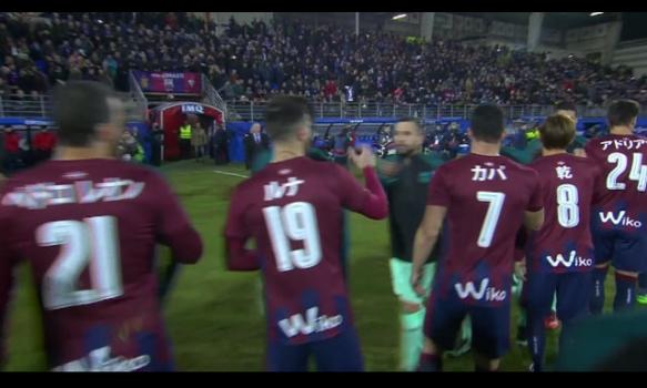 スペインサッカー リーガ・エスパニョーラ 16-17シーズン 第19節 スーパープレイ動画