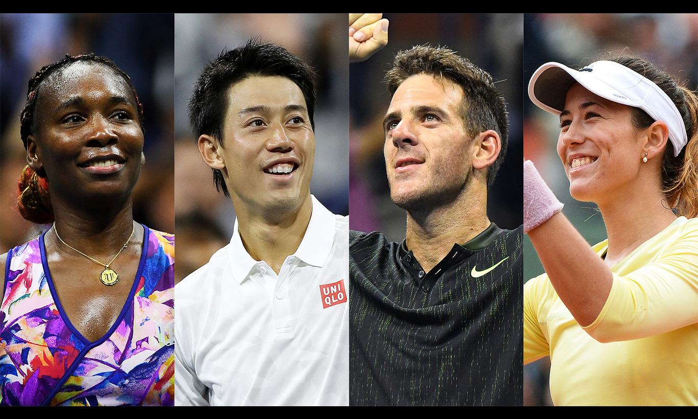 錦織圭出場!ワールド・テニス・デー2017