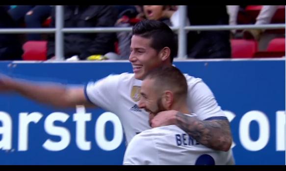 スペインサッカー リーガ・エスパニョーラ 16-17シーズン 第26節 スーパープレイ動画