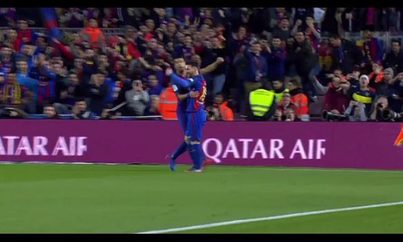 スペインサッカー リーガ・エスパニョーラ 16-17シーズン 第28節 スーパープレイ動画