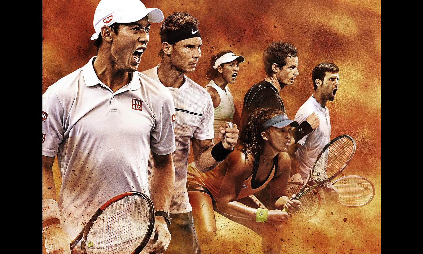 全仏オープンテニス2017