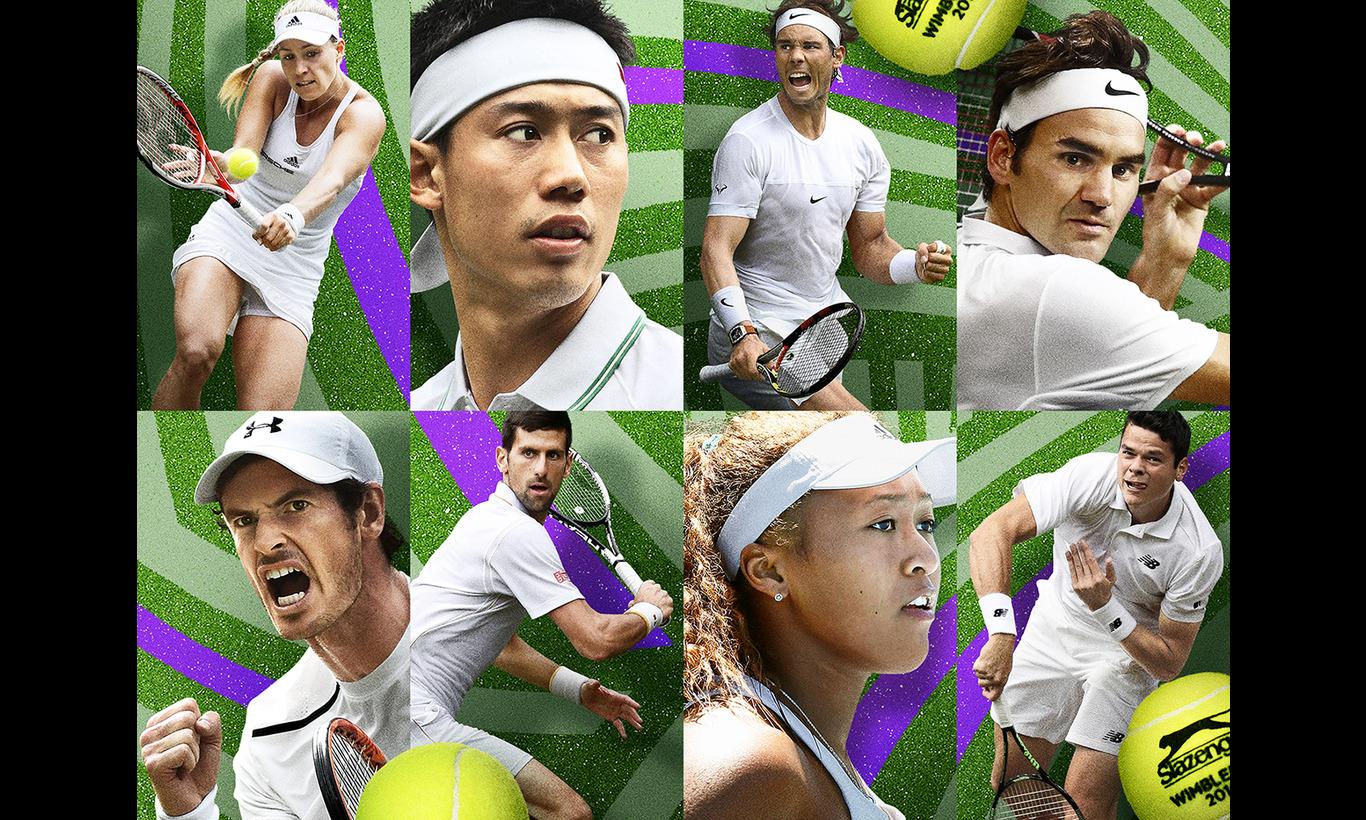 ウィンブルドンテニス2017