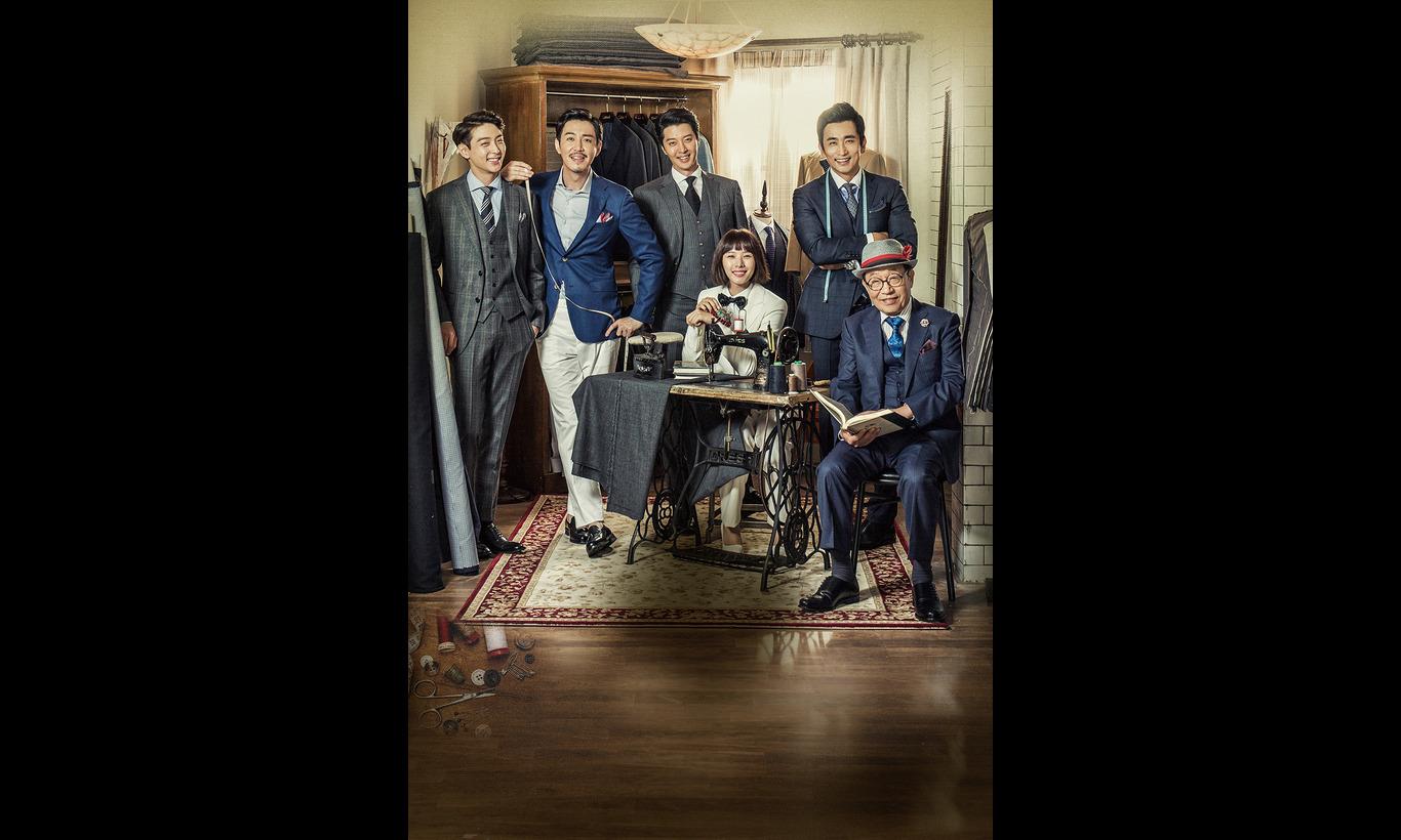 韓国ホームドラマ「月桂樹洋服店の紳士たち〜恋はオーダーメイド!〜」
