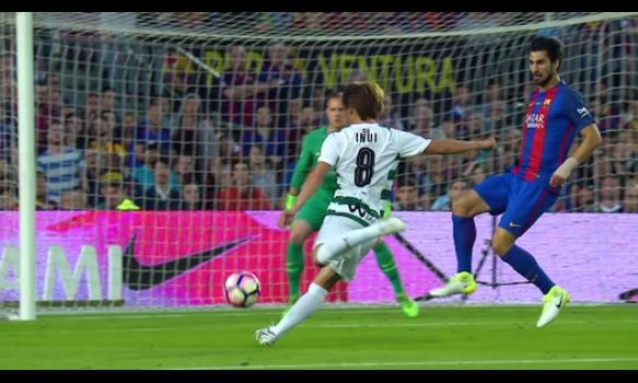 スペインサッカー リーガ・エスパニョーラ 16-17シーズン 第38節 スーパープレイ動画