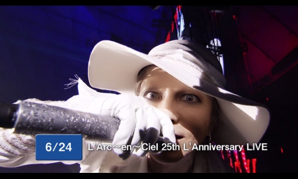 L'Arc〜en〜Ciel 25th L'Anniversary LIVE/TVCM(15秒)