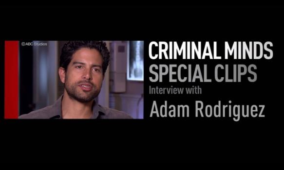 クリミナル・マインド12 FBI行動分析課/スペシャルクリップ Vol.1(アダム・ロドリゲス)