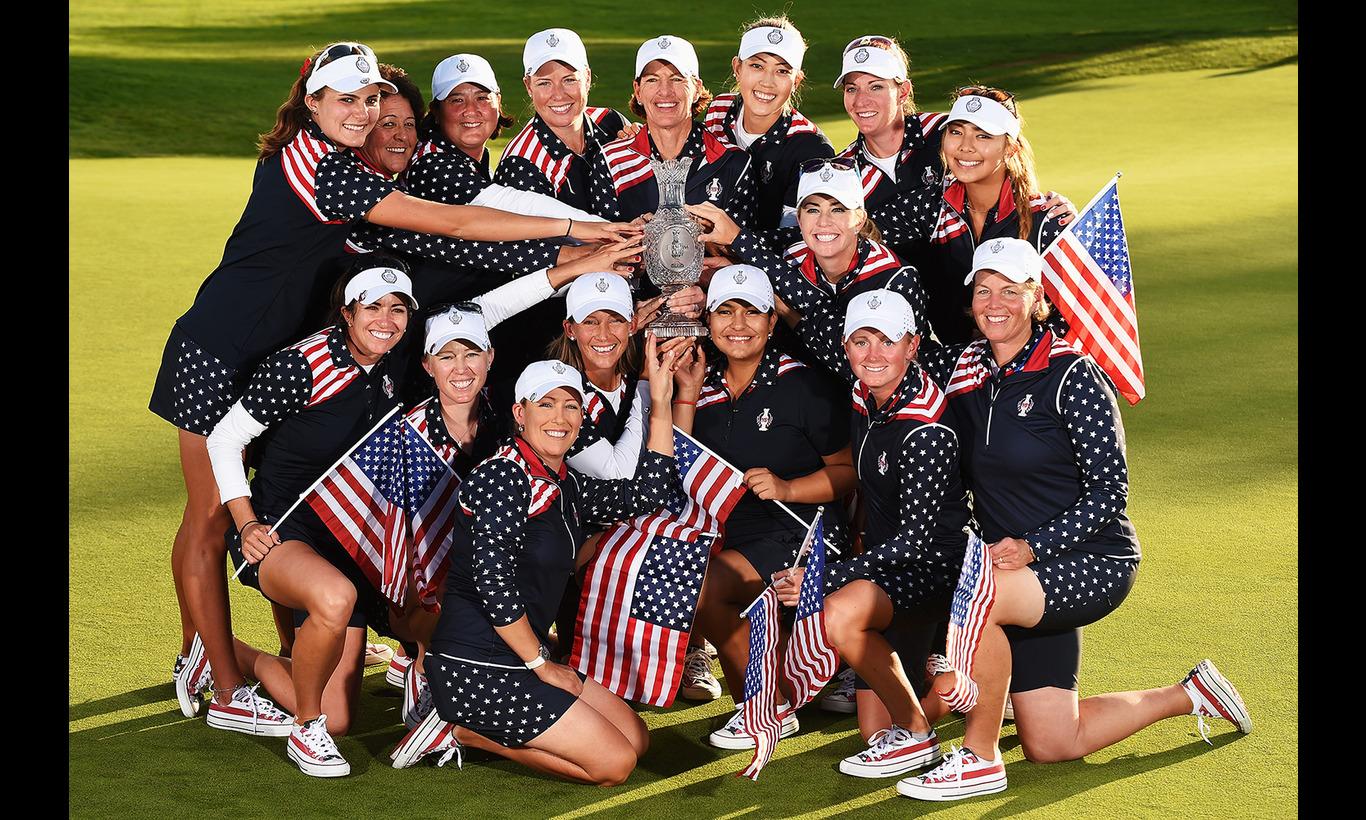 LPGA女子ゴルフ ソルハイムカップ2017 欧州代表×アメリカ代表