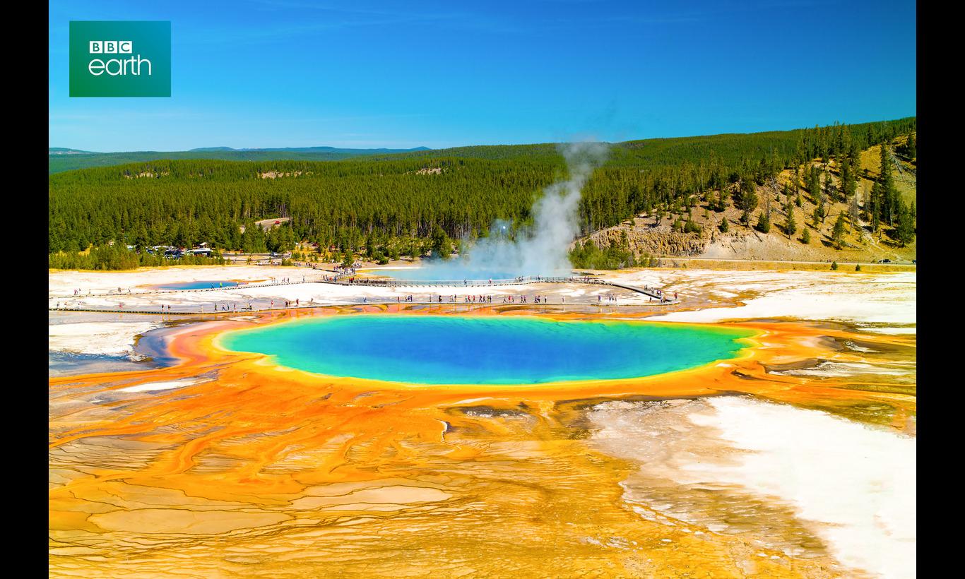 BBC Earth イエローストーン~七色の泉と白い雪解け~