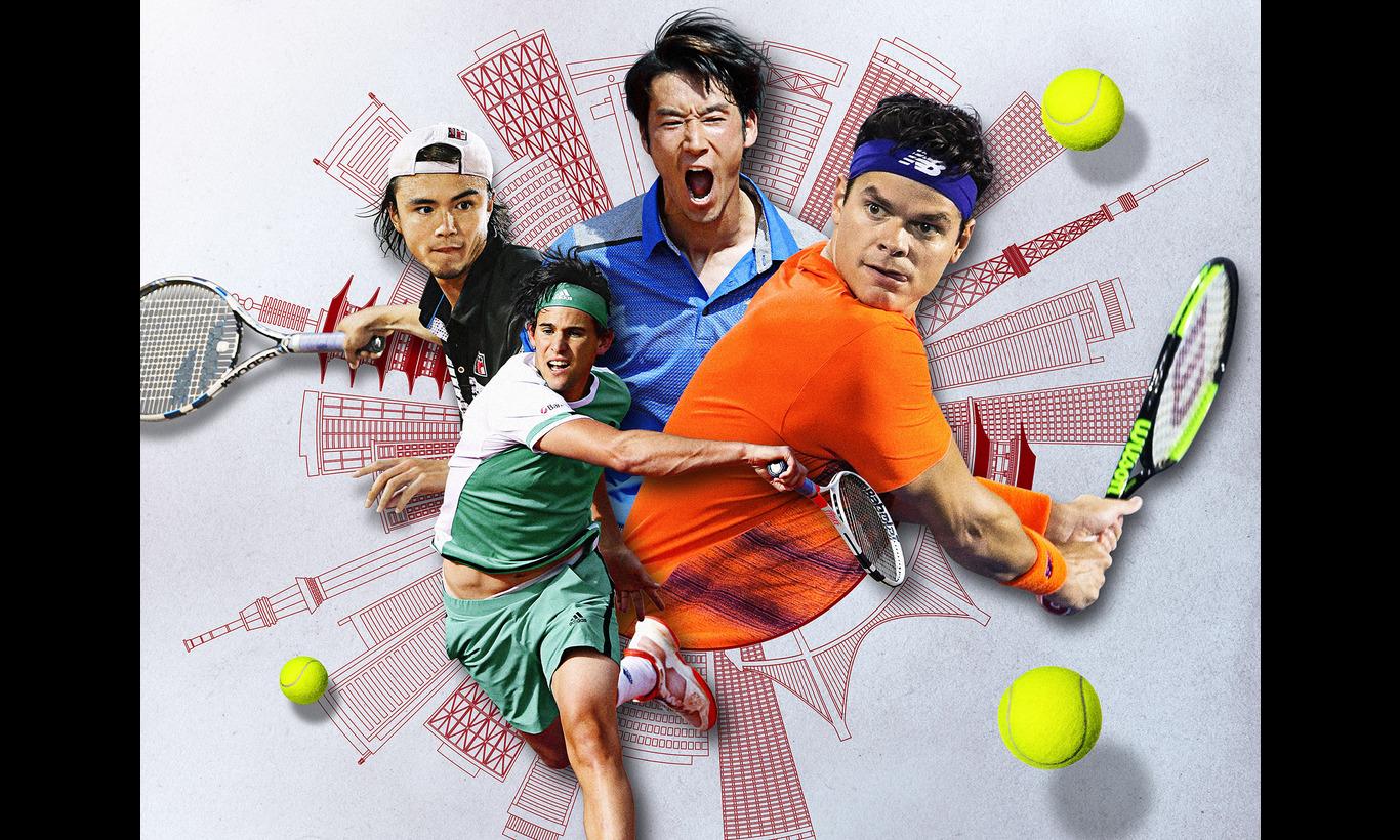 楽天ジャパンオープンテニス2017