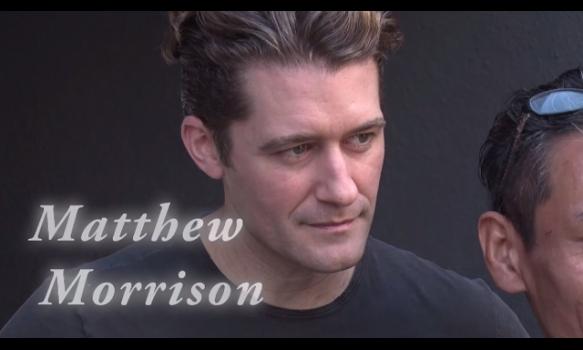マシュー・モリソンからのメッセージ&LA取材/マシュー・モリソン・イン・コンサート