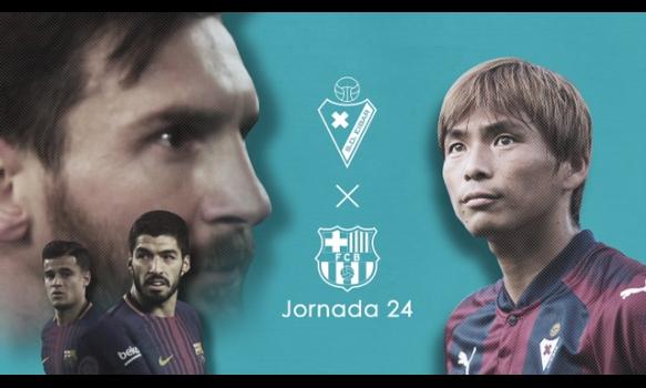 スペインサッカー リーガ・エスパニョーラ ★第24節 放送予定★