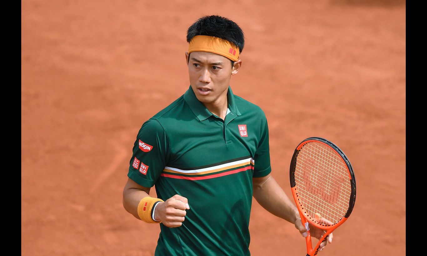 錦織圭 全仏オープンテニス激闘史