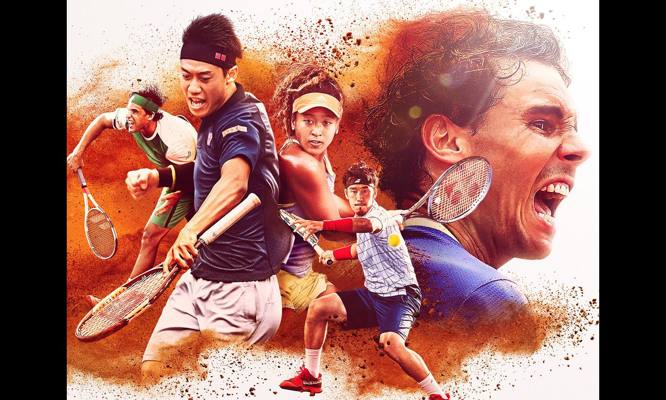 全仏オープンテニス2018
