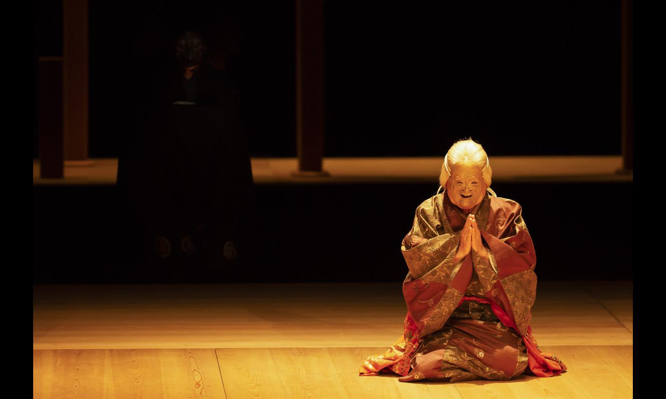野村万作・萬斎 狂言劇場 特別版― 能『鷹姫』・狂言『楢山節考』