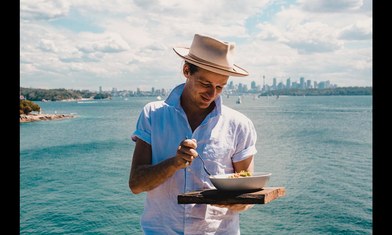 海辺のGuy's キッチン in ボンダイビーチ