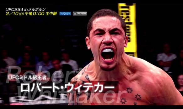 生中継!UFC234 in メルボルン/プロモーション映像