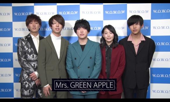 【DAY-1】Mrs. GREEN APPLE コメント映像