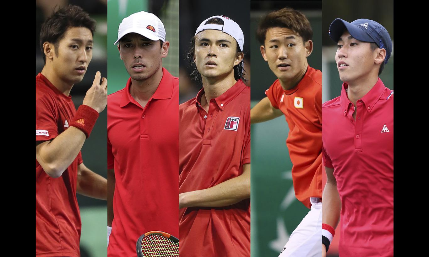 男子テニス国別対抗戦デビスカップ ワールドグループ プレーオフ