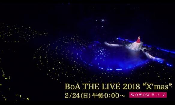 """BoA THE LIVE 2018 """"X'mas""""/ライブダイジェスト"""