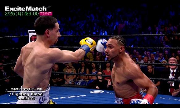 エキサイトマッチ~世界プロボクシング/キース・サーマン vs ホセシト・ロペス/番組宣伝映像