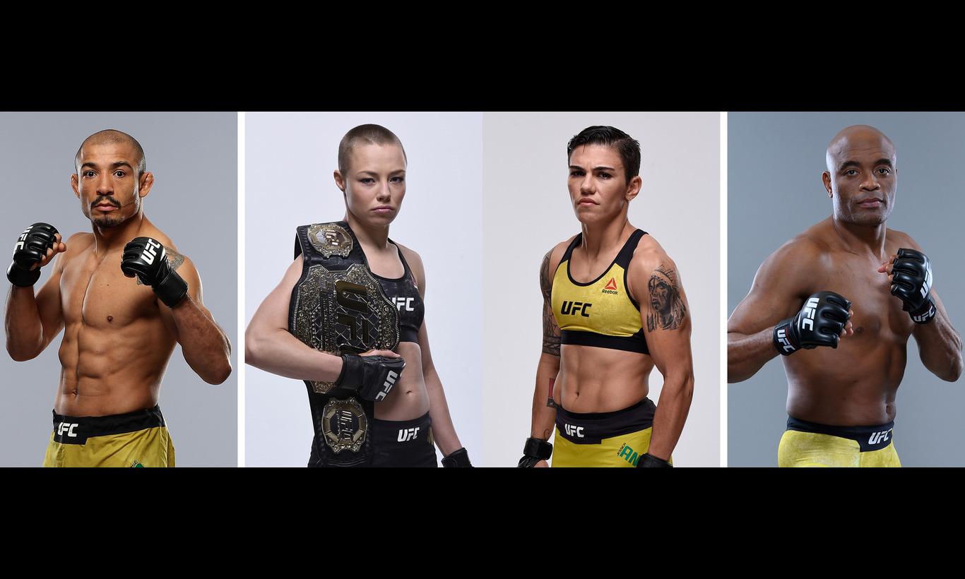 UFC-究極格闘技- UFC237 in ブラジル