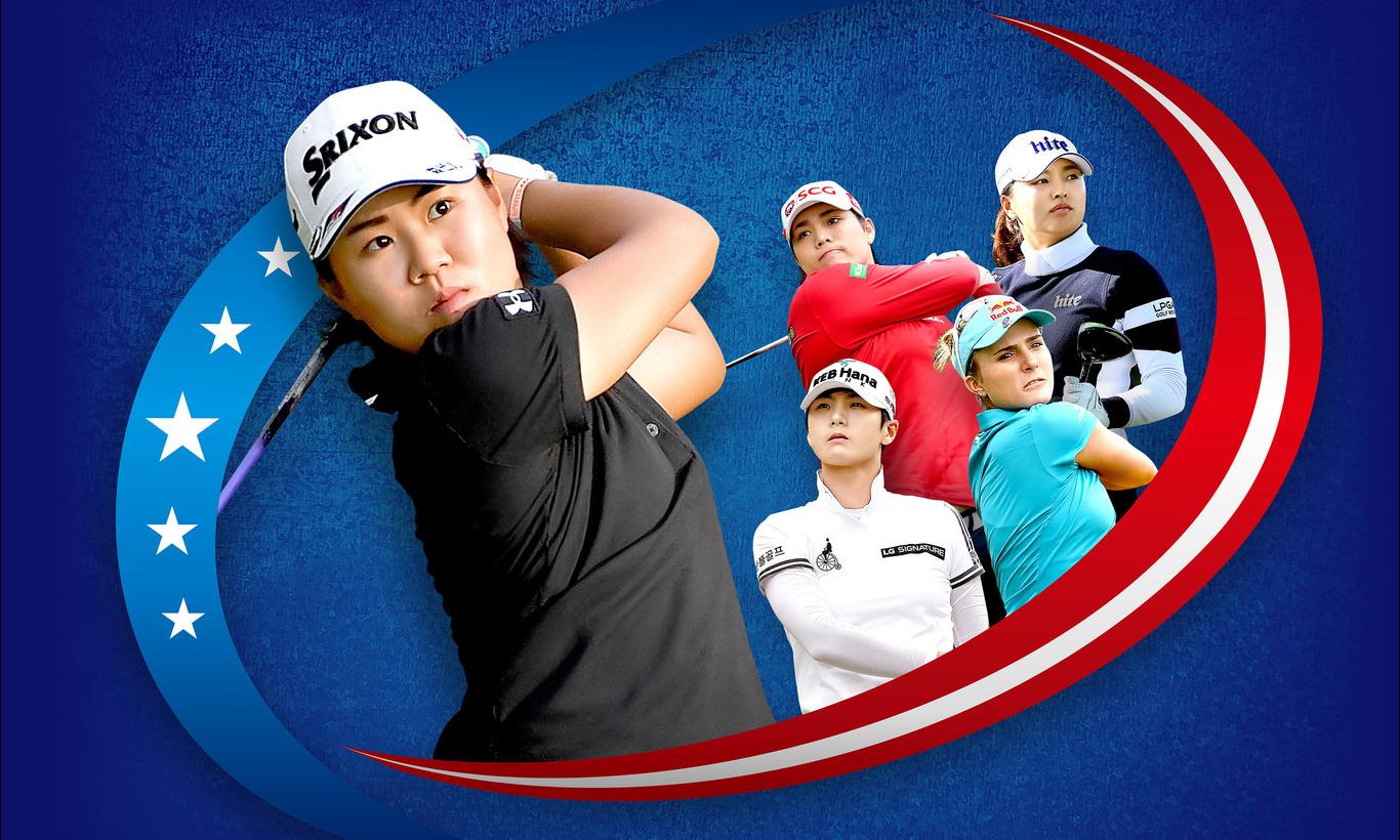 メジャー第2戦!LPGA女子ゴルフツアー 全米女子オープン 第2日