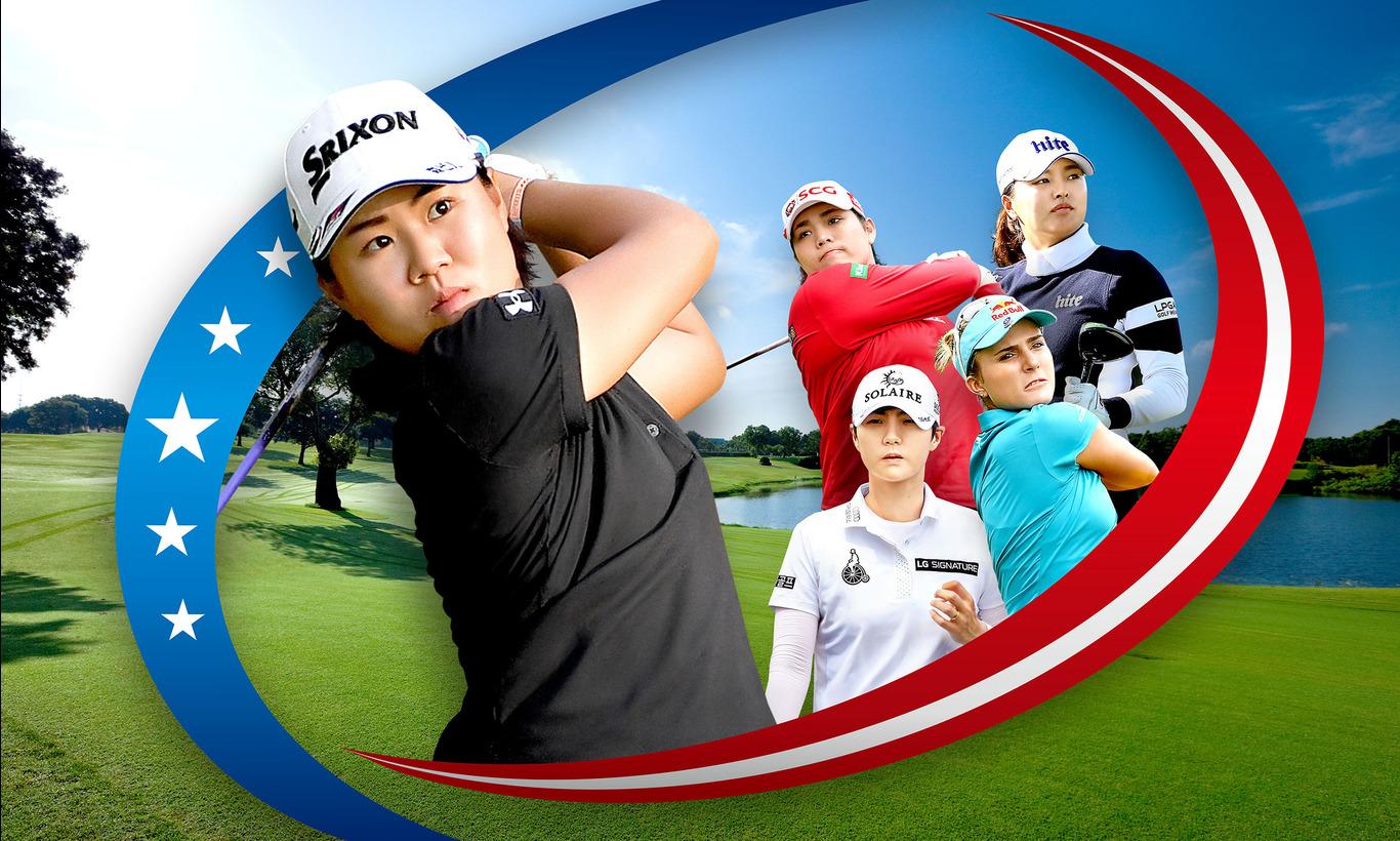 メジャー第3戦!LPGA女子ゴルフツアー KPMG全米女子プロゴルフ選手権 第2日