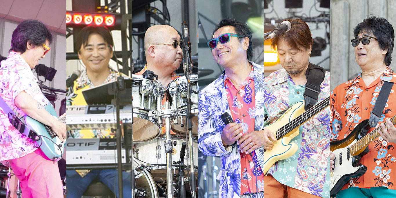 杉山清貴「SUGIYAMA,KIYOTAKA The open air live High & High 2019」