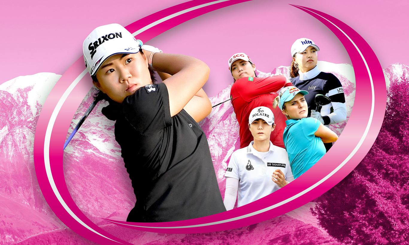メジャー第4戦!LPGA女子ゴルフツアー エビアン・チャンピオンシップ 第1日<後半>