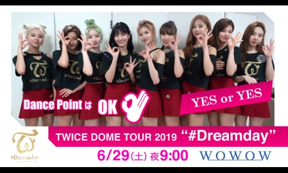 """TWICE DOME TOUR 2019 """"#Dreamday""""/振付動画"""