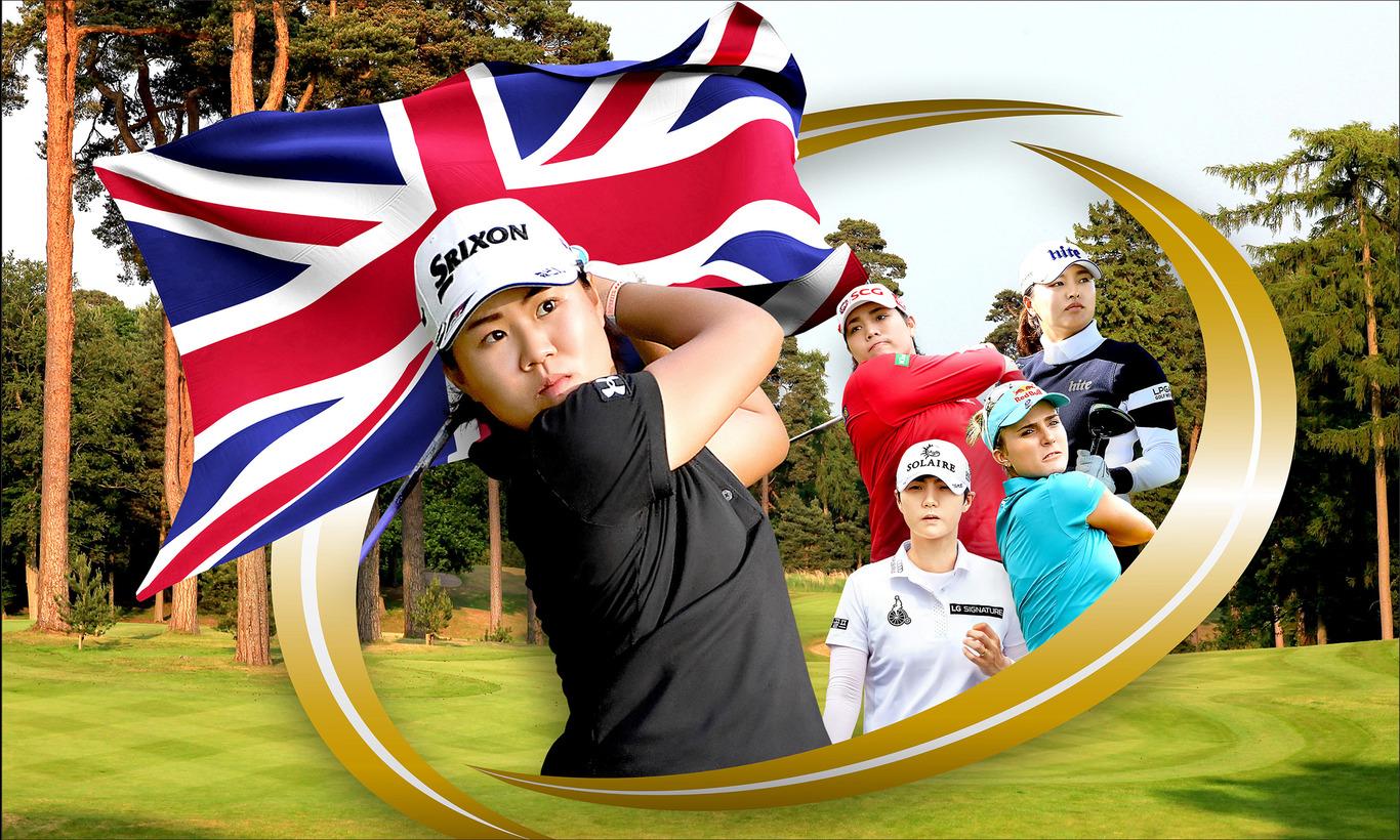 メジャー最終戦!LPGA女子ゴルフツアー 全英AIG女子オープン 第1日<後半>