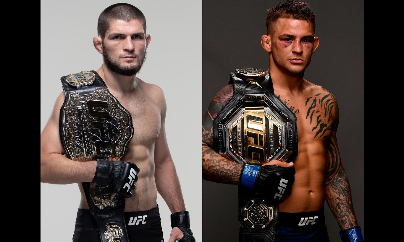 UFC-究極格闘技- UFC242 in アブダビ