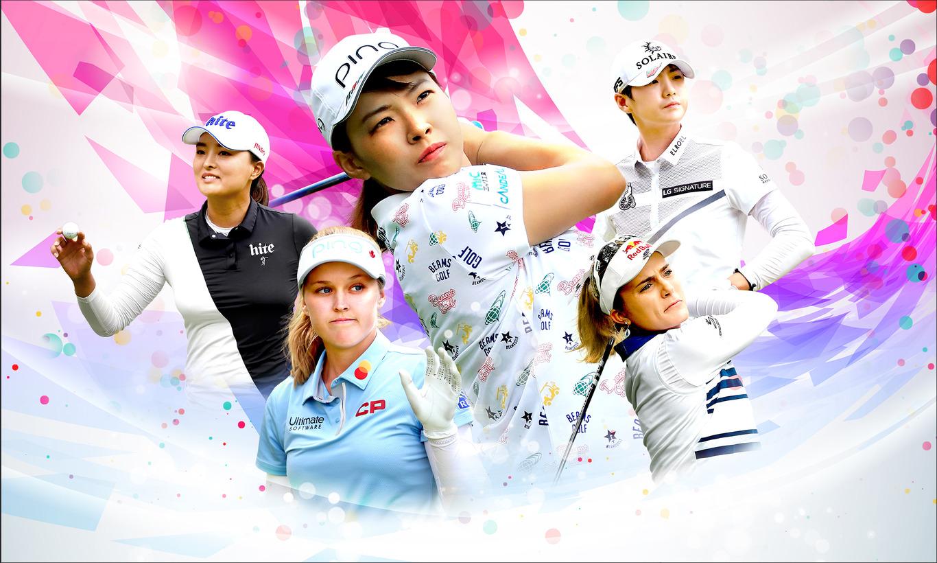 渋野日向子出場! LPGA女子ゴルフツアー スインギング・スカーツLPGA台湾選手権 第3日