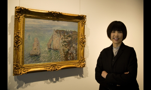 CONTACT ART~原田マハと名画を訪ねて~ #1 モネ/島根県立美術館