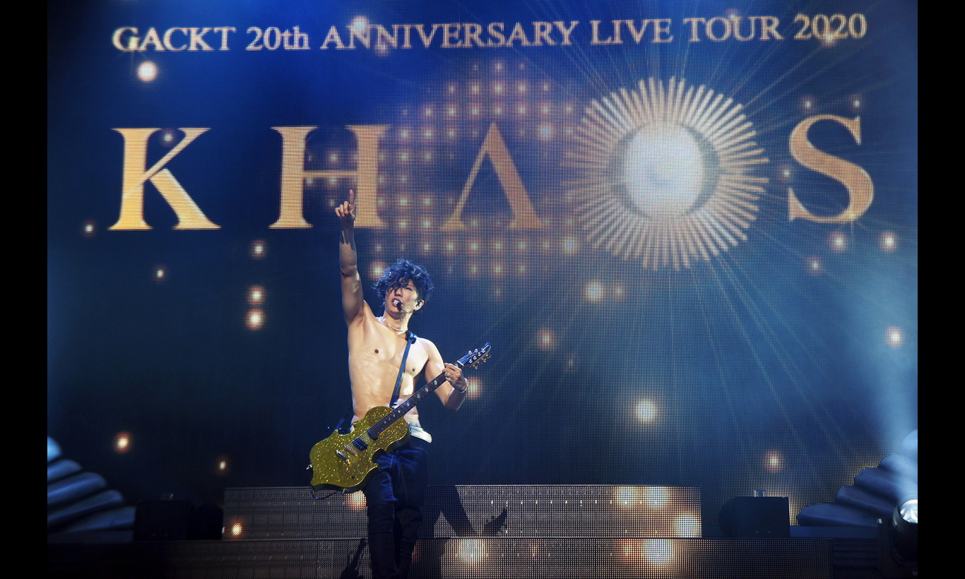 GACKT 20th ANNIVERSARY LIVE TOUR 2020「KHAOS」
