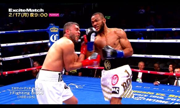 エキサイトマッチ~世界プロボクシング/ジュリアン・ウィリアムス vs ジェイソン・ロサリオ/番組宣伝映像