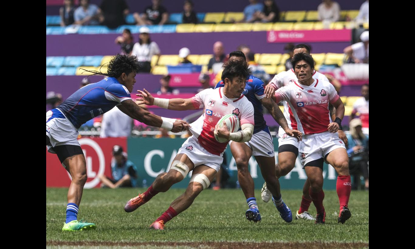 日本代表出場!ワールドラグビー セブンズシリーズ -7人制ラグビー代表戦-